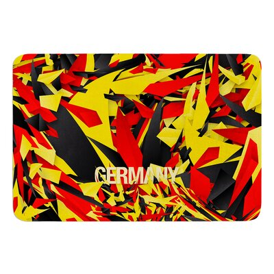 Germany by Danny Ivan Bath Mat Size: 17W x 24L
