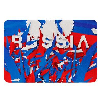 Russia by Danny Ivan Bath Mat Size: 17W x 24L