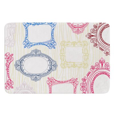Ive Been Framed by Heidi Jennings Bath Mat Size: 24 W x 36 L