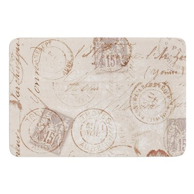 World Traveler by Heidi Jennings Bath Mat Size: 24 W x 36 L