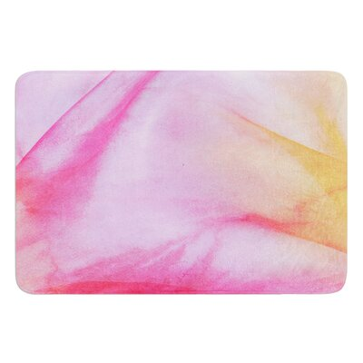 Pastel Haze by Heidi Jennings Bath Mat Size: 24 W x 36 L