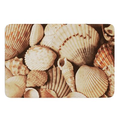 Shells by Heidi Jennings Bath Mat Size: 24 W x 36 L