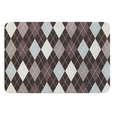Argyle by Heidi Jennings Bath Mat Size: 24 W x 36 L