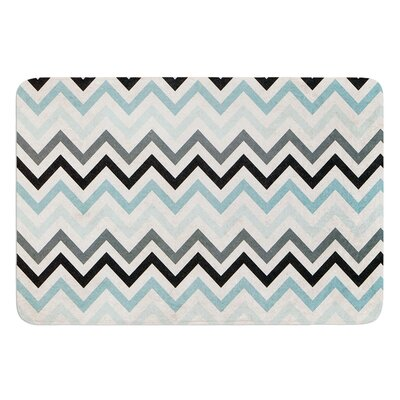 Chevron by Heidi Jennings Bath Mat Size: 24 W x 36 L