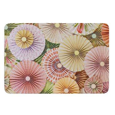 Spring by Heidi Jennings Bath Mat Size: 24 W x 36 L
