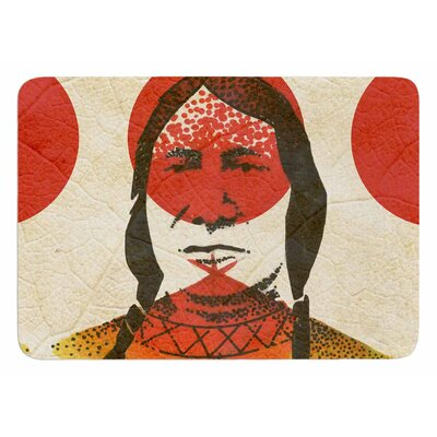 Indian by Ivan Joh Bath Mat