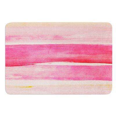 Colour Play by Iris Lehnhardt Bath Mat Size: 17W x 24L