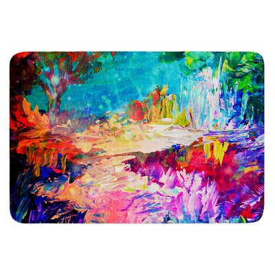 Welcome to Utopia by Ebi Emporium Bath Mat Size: 17 W x 24 L