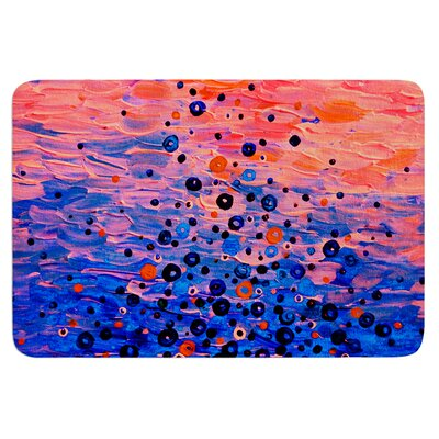 What Goes Up by Ebi Emporium Bath Mat Size: 17 W x 24 L