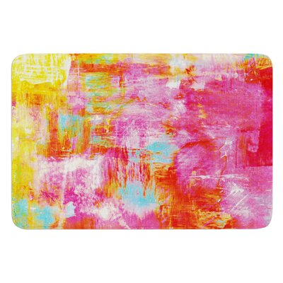 Off The Grid III by Ebi Emporium Bath Mat Size: 24 W x 36 L