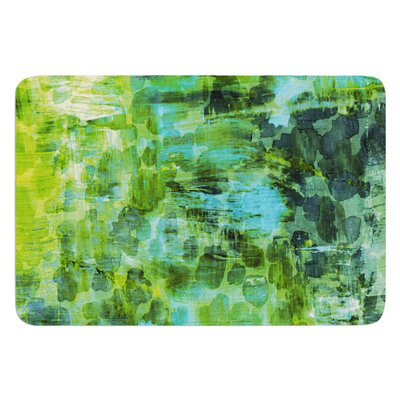 Pastel Jungle II by Ebi Emporium Bath Mat Size: 17 W x 24 L