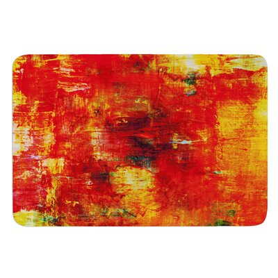Autumn Harvest by Ebi Emporium Bath Mat Size: 24 W x 36 L