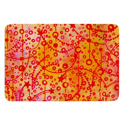 Make A Wish by Ebi Emporium Bath Mat Size: 17 W x 24 L