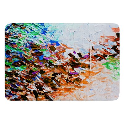 Winter Retreat by Ebi Emporium Bath Mat Size: 24 W x 36 L