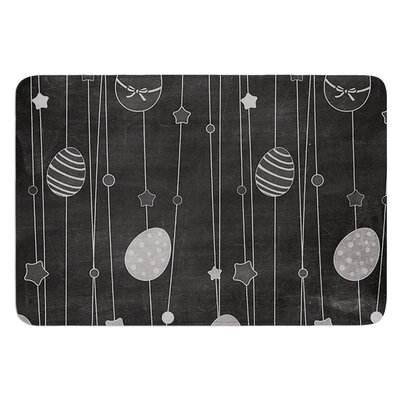 Chalk Eggs Bath Mat