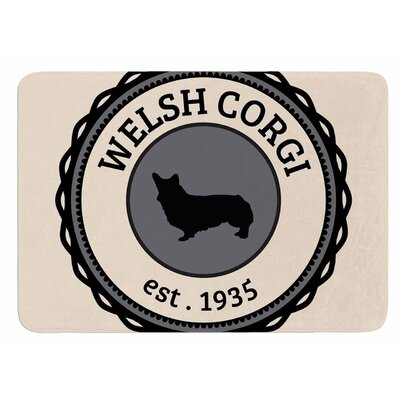 Welsh Corgi Original Bath Mat