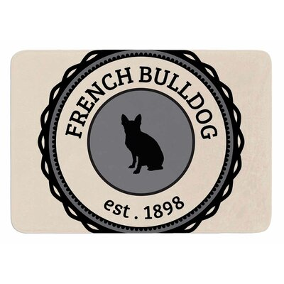French Bulldog Original Bath Mat