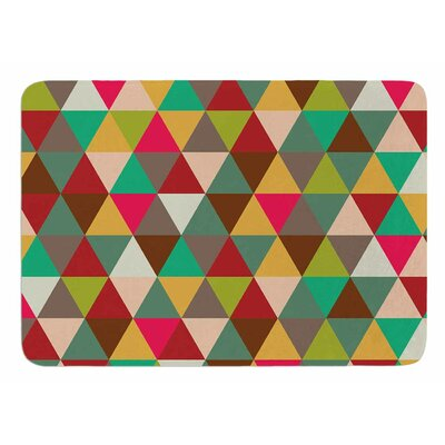 Autumn Triangle Spectrum Original Bath Mat
