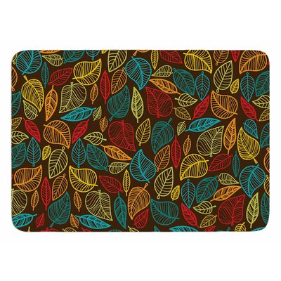 Leaves All Around Original Bath Mat