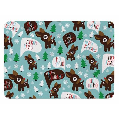 Cheerful Reindeer Original Bath Mat