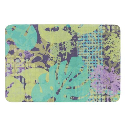 Verdure Collage by Chickaprint Bath Mat