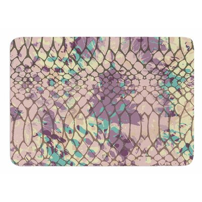 Snakeskin by Chickaprint Bath Mat