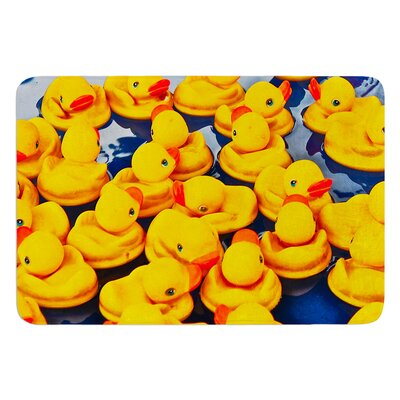 Duckies by Maynard Logan Bath Mat