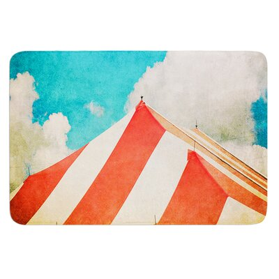 The Big Top by Ann Barnes Bath Mat Size: 24 W x 36 L