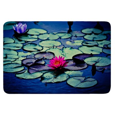 Twilight by Ann Barnes Bath Mat Size: 24 W x 36 L