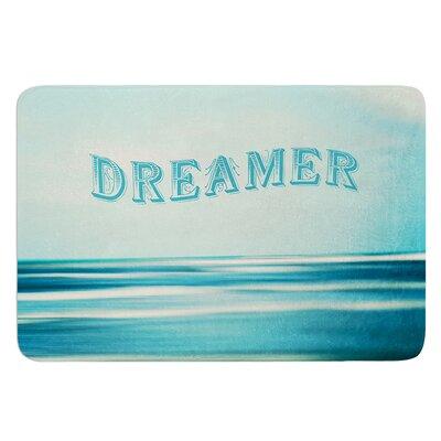 Dreamer by Ann Barnes Bath Mat Size: 24 W x 36 L