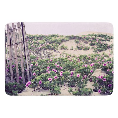 Morning at the Beach by Ann Barnes Bath Mat Size: 17W x 24L
