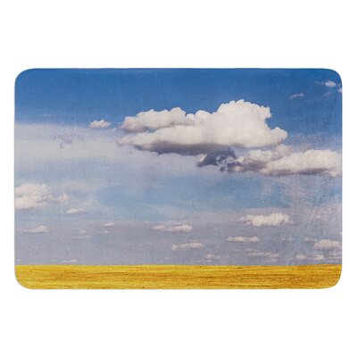 Big Sky by Ann Barnes Bath Mat Size: 24 W x 36 L