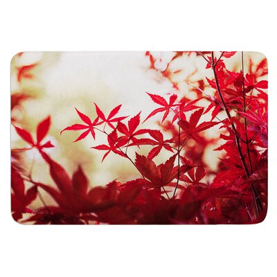 September Afternoon by Ann Barnes Bath Mat Size: 24 W x 36 L