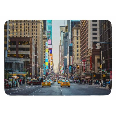 Sunset Over 7th by Ann Barnes Bath Mat
