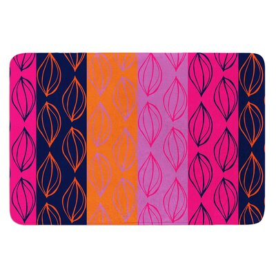 Tropical Seeds by Anneline Sophia Bath Mat Size: 17W x 24L