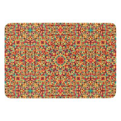Circus by Allison Soupcoff Bath Mat Size: 17W x 24L