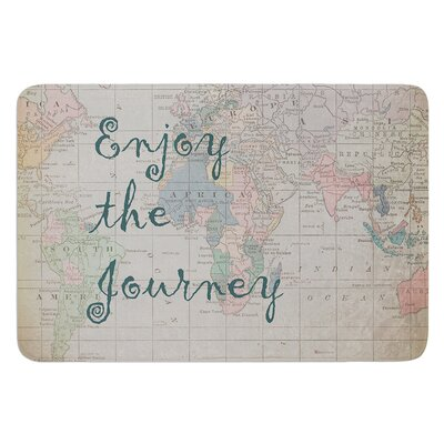 Journey by Catherine Holcombe Bath Mat Size: 24 W x 36 L