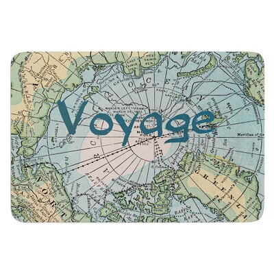 Voyage by Catherine Holcombe Bath Mat Size: 17W x 24 L