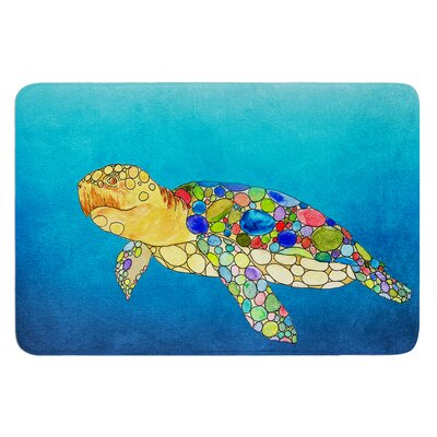 Bubbles by Catherine Holcombe Bath Mat Size: 17W x 24 L