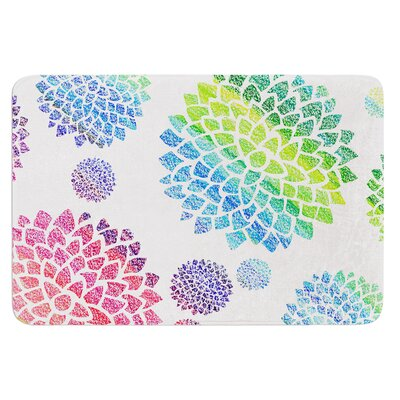 Feel the Rainbow by Catherine Holcombe Bath Mat Size: 17W x 24 L