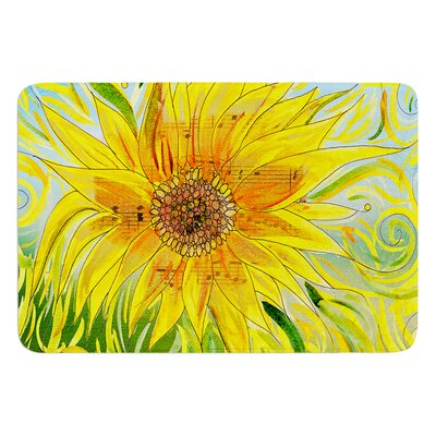 Syaured by Catherine Holcombe Bath Mat Size: 17