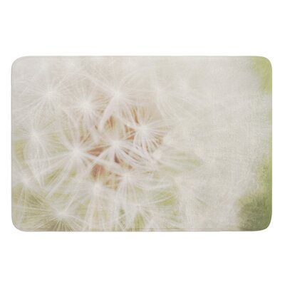 Dandelion by Catherine McDonald Bath Mat Size: 17