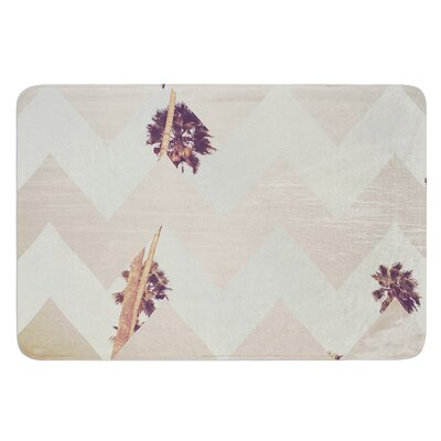 Oasis by Catherine McDonald Bath Mat Size: 17W x 24 L