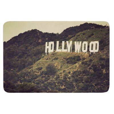 Hollywood by Catherine McDonald Bath Mat Size: 24 W x 36 L
