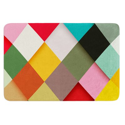 Colorful by Danny Ivan Bath Mat Size: 24 W x 36 L