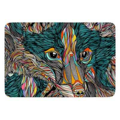 Fox by Danny Ivan Bath Mat Size: 24 W x 36 L