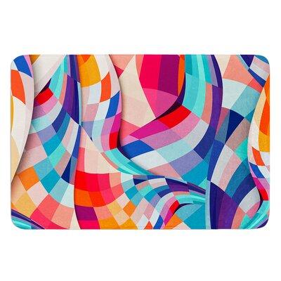 Versicolor by Danny Ivan Bath Mat Size: 17W x 24L