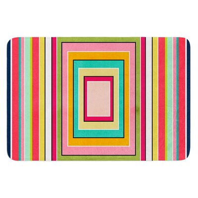 Floor Pattern by Danny Ivan Bath Mat Size: 24 W x 36 L