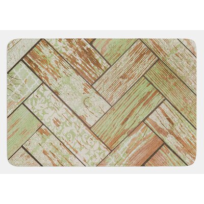 Patina by Heidi Jennings Bath Mat Size: 17W x 24L