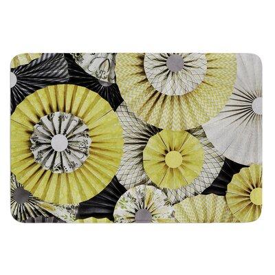 Daffodil by Heidi Jennings Bath Mat Size: 24 W x 36 L